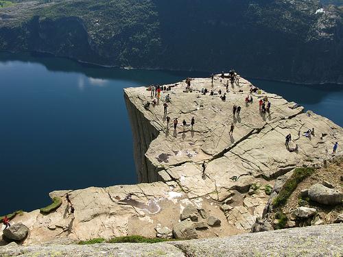 besöka norge